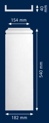 Декоративен пиластер HFP 15