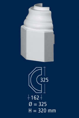 Основа за колона HS 22 FH /гладка/