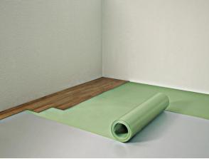 Поставяне на Floor Komfort ролка