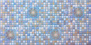 PVC панел 1651 / Blue Medailon